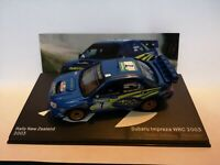 Subaru Impreza WRC, P. Solberg, Rally New Zealand 2003 , 1/43 Diecast rally car.