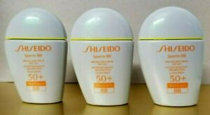 SHISEIDO SPORTS BB Sunscreen  SPF 50 + Wet Force 1 oz UNBOX PICK YOUR SHADE