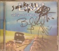 Blues Traveler Live 5x SIGNED Autographed CD VG free shipping