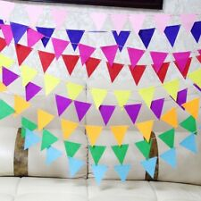 Small Felt Triangle Bunting Fabric Garland Party Bunting