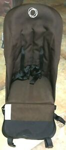 Canvas Seat for Bugaboo Cameleon 1st 2nd 3rd Generation Stroller Brown w/Harness