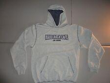 Gray Hard Rock Cafe Las Vegas Hooded Hoodie Sweatshirt Fits Adult M NICE COOL