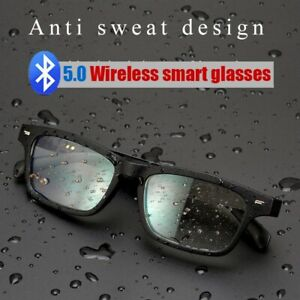 Polarized /Anti-blue light Smart Bluetooth5.0 Glasses Music Sunglasses Eyeglass