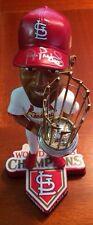 Albert Pujols St. Louis Cardinals Signed 2011 World Series Bobblehead #10/11 W@W