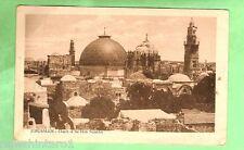 #A. EGYPT  MILITARY POSTCARD -  1918, ON ACTIVE SERVICE, JERUSALEM