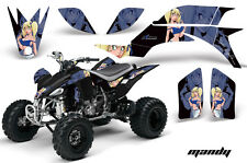 ATV Graphics Kit Quad Decal Sticker Wrap For Yamaha YFZ450 2004-2013 MANDY U K