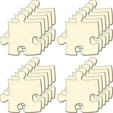 blanc Puzzle infini, taille M, lot 20 pièces, pièces de en bois, dessiner