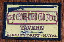 Martini Henry Tavern Morale Patch Tactical Military Army Badge Hook Flag