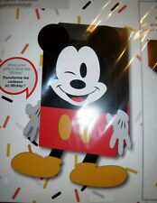 Disney Parks Mickey Mouse Character Gift Wrap Set, Gifts Look Like Mickey Mouse