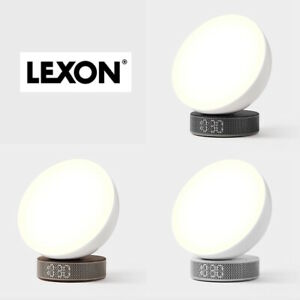 NEW Lexon Miami Sunrise Light Therapy Alarm Clock - ALL FINISHES