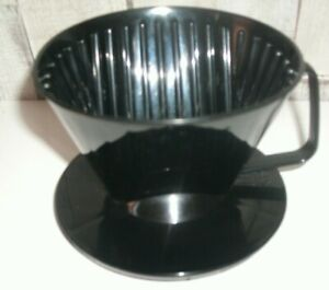 Coffee Maker Single  Cup Mug Pour Over Plastic Dripper Reusable Filter