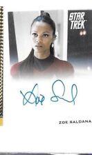 Zoe Saldana autograph card Star Trek Movie 2009 Uhura