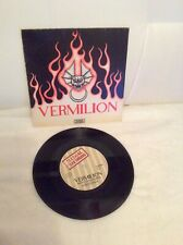 """Vermilion """"Angry Young Women"""" Illegal Records ILM 0010 UK 7"""" Single - 1978 Rare"""