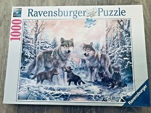 Ravensburger Arctic Wolves Jigsaw Puzzle 1000 Pieces Brand New & Sealed