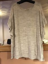 Papaya Weekend Grey Tunic Top Size M