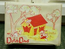 Vintage Rare 1961 TV Show Deputy Dawg Vinyl Lunchbox by TerryToons