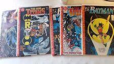 DC Comics Batman/New Titans A lonely place of dying 1-5 Jim Aparo auto VF+ 8.5