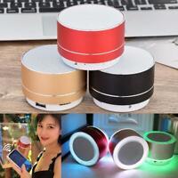 Bluetooth 5.0 Lautsprecher Mini Wireless Portable FM USB Radio Mp3 BassStereo