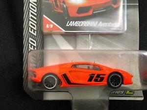 Majorette Lamborghini Aventado Series 2 Orange No.15 Limited Edition car Diecast