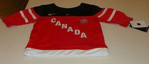 Canada 2015 World Juniors Hockey Jersey IIHF 100th Anniversary Age 5 Kids