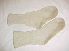 ORIGINAL, RARE & VG White Boot Socks For Use With AAF Type A-14 Mukluks (Sz 12)
