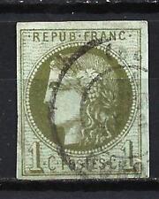 France 1870 type Cérès Yvert n° 39C oblitéré 1er choix (2)
