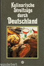 *- KULINARISCHE Streifzüge durch DEUTSCHLAND - WINTER/Schmitz gebunden HC (1987)