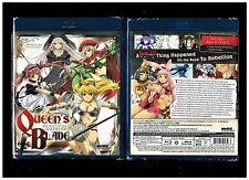 Queen's Blade Beautiful Warriors Complete OVA Collection (Brand New Blu-ray Disc