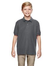 Gildan Boys DryBlend 6.3 oz. Double Piqu?? Sport Shirt 12 Pack G728B All Sizes