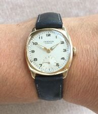 J W Benson Watch 9ct Gold 1940s Benson Movement