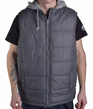 American Rag Men's Sleeveless Vest Hoodie Full Zip Jacket Size Large