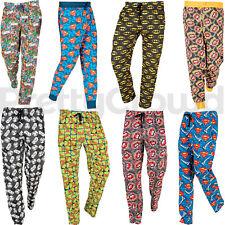 Mens Character Lounge Pants Bottoms Pyjamas Pjs Nightwear Pajamas Novelty Gift