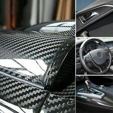 Auto Accessories 7D Glossy Carbon Fiber Vinyl Film Car Interior Wrap Stickers US