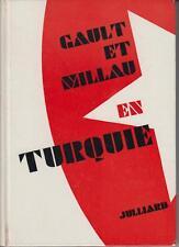 GAULT Henri - MILLAU -Christian / Gault et Millau en Turquie. (Edité en 1968)