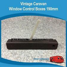 Caravan WIND OUT WINDOW CONTROL BOX ( LEFT ) 190MM  Vintage Viscount Chesney