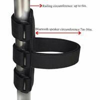 Bike Water Bottle Mount Holder Strap Bluetooth Speaker Nonslip Mount Fixed Strap