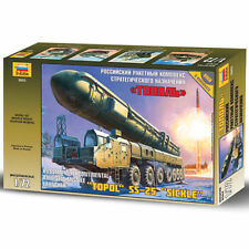 ZVEZDA 5003 Topol s2-25 FALCE Balistic MISSILE Launcher 1:72 MODEL KIT