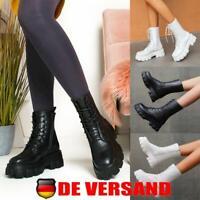 36-40 DE Damen Kniehohe Stiefel Overknee Stretch Hochschaft Party High Heels Gr