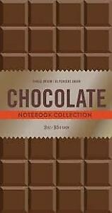 CHOCOLATE NOTEBOOK COLLECTION by Chronicle Books Chocoholics NEW