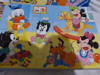 2 PUZZLES 20 PIECES MICKEY ,RAVENSBURGER ,