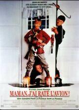affiche du film MAMAN J'AI RATE L'AVION 120x160 cm