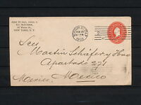 SKCC 161  US STATIONERY COVER ENVELOPE 1903 TO MEXICO