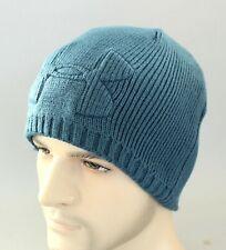 New Mens Under Armour Embossed Infrared Beanie UA Coldgear Hat Skull Cap Winter