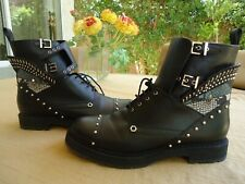 FENDI  new ,motorcycle, combat boots size 9