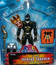 """Power Rangers Dino Thunder BLACK Ranger Talking New 5"""" Factory Sealed 2003"""