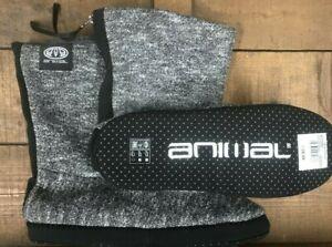 Men's Animal 'Bollo' slipper boot (FW9WQ004) L63 Asphalt grey