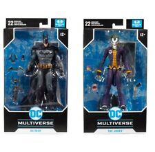 "Joker + Batman 2 Pack Arkham Asylum 7"" Scale Action Figure McFarlane DC"