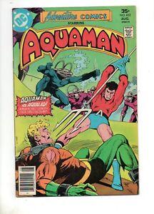 Adventure Comics #452 BLACK MANTA COVER/STORY DEATH of AQUAMAN'S SON 1977 VF 8.0