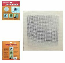 """Wall Patch Plasterboard Patches Ceiling Self Adhesive Cracks Plaster Holes 8""""x8"""""""