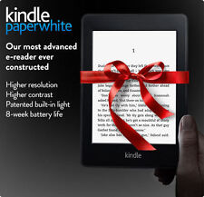 "Amazon Kindle Paperwhite 6"" High Resolution Next-Gen Built-in Light 4GB"